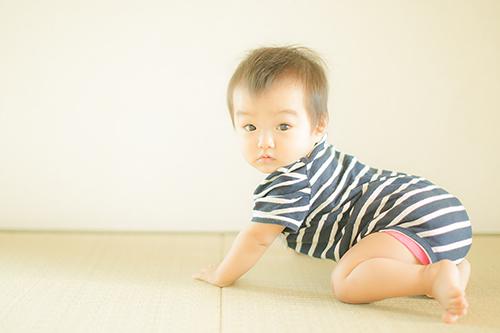2歳になる娘の写真